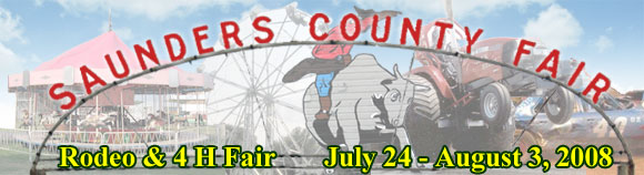 Saunders County Fair Logo
