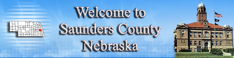 Saunders County Nebrasks Logo